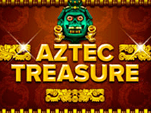 В казино Вулкан на зеркале автомат Aztec Treasure